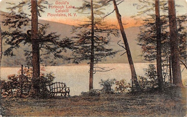 Gould's Furlough Lake Arkville, New York Postcard