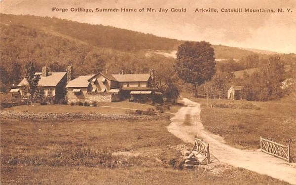 Forge Cottage Arkville, New York Postcard
