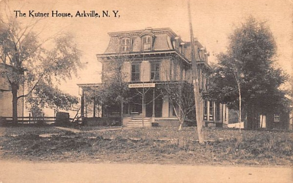 The Kutner House Arkville, New York Postcard