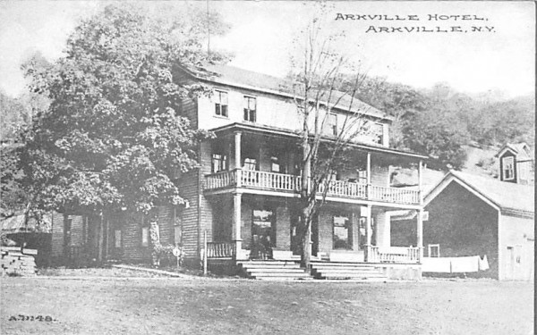 Arkville Hotel New York Postcard