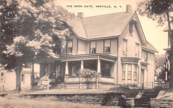 The Open Gate Arkville, New York Postcard