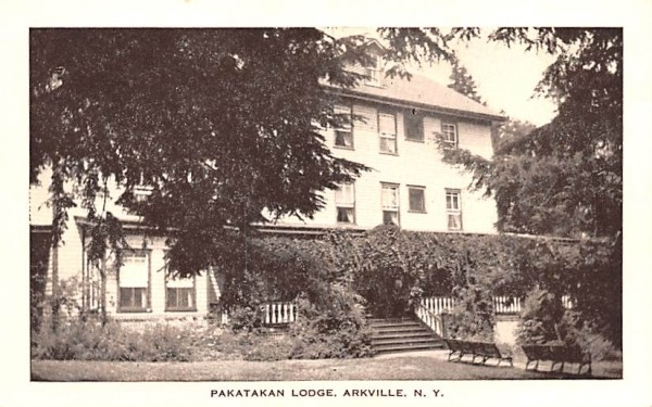Pakatakan Lodge Arkville, New York Postcard