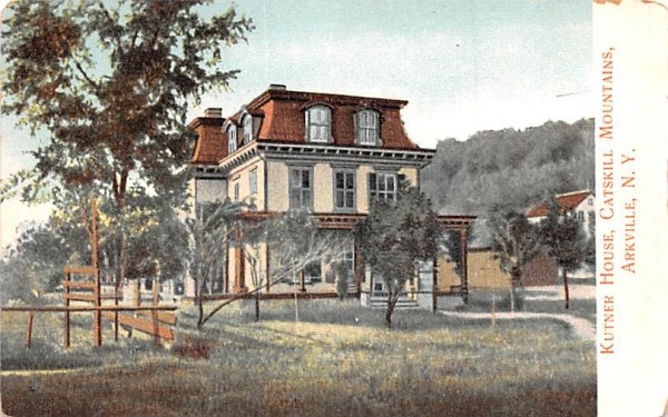 Kutner House Arkville, New York Postcard