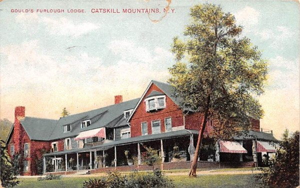 Gould's Furlough Lodge Arkville, New York Postcard