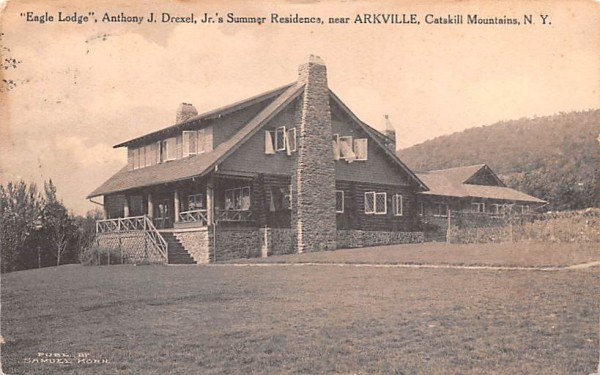 Engle Lodge Arkville, New York Postcard