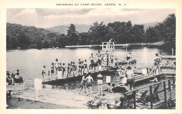 Camp Recro Arden, New York Postcard