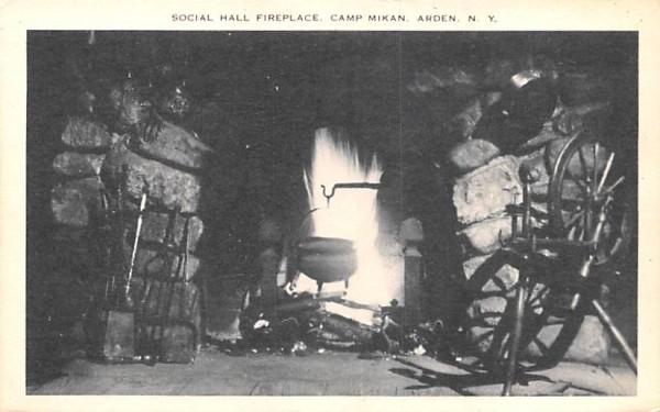 Camp Mikan Arden, New York Postcard