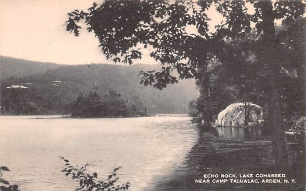 Camp Talualac Arden, New York Postcard