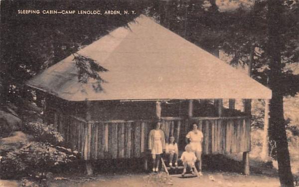 Camp Lenoloc Arden, New York Postcard