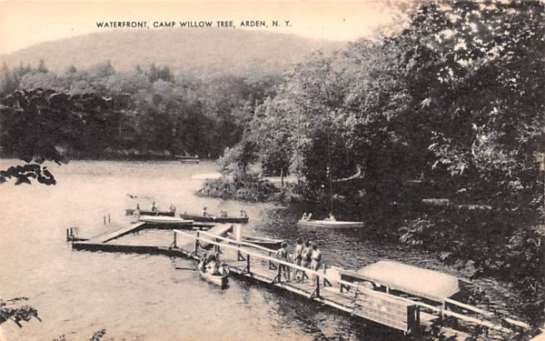 Camp Willow Tree Arden, New York Postcard