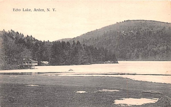Echo Lake Arden, New York Postcard