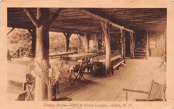 YWCA Camp Lenoloc Arden, New York Postcard