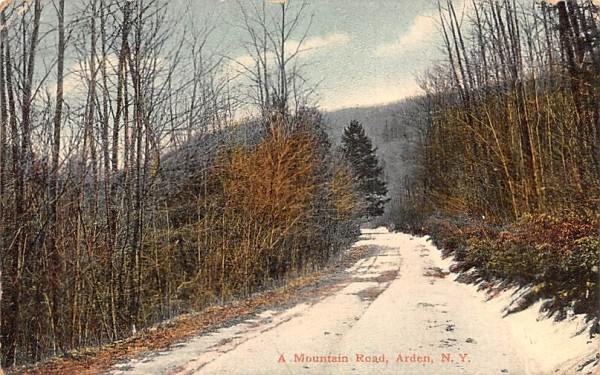 Mountain Road Arden, New York Postcard