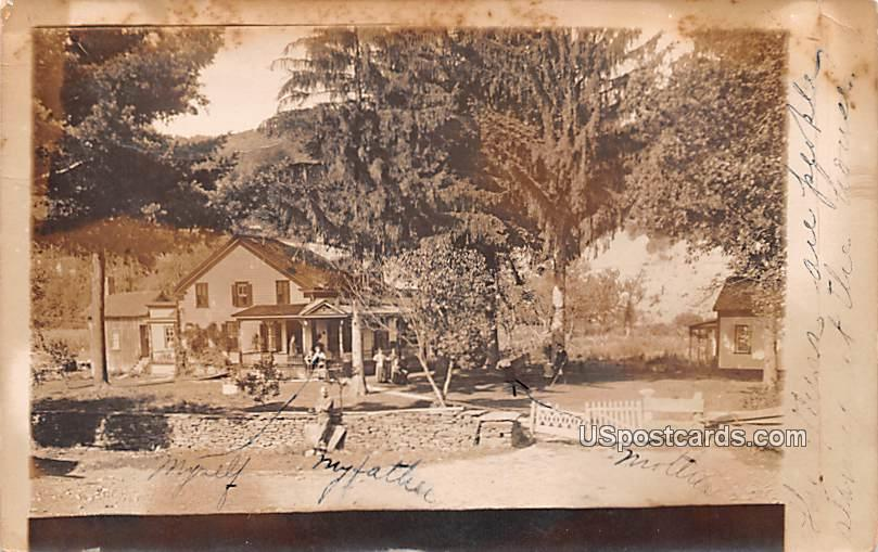 Residence - Andes, New York NY Postcard
