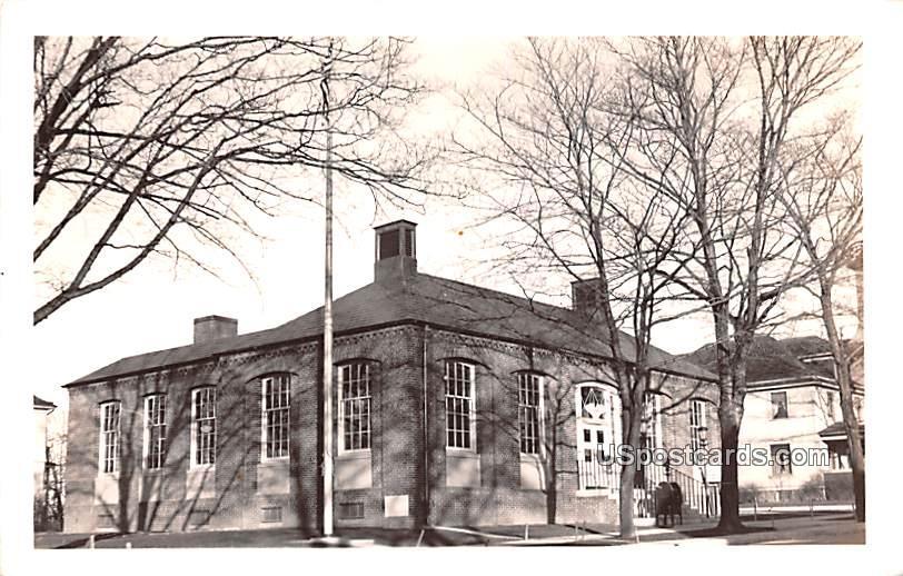 Post Office - Akron, New York NY Postcard