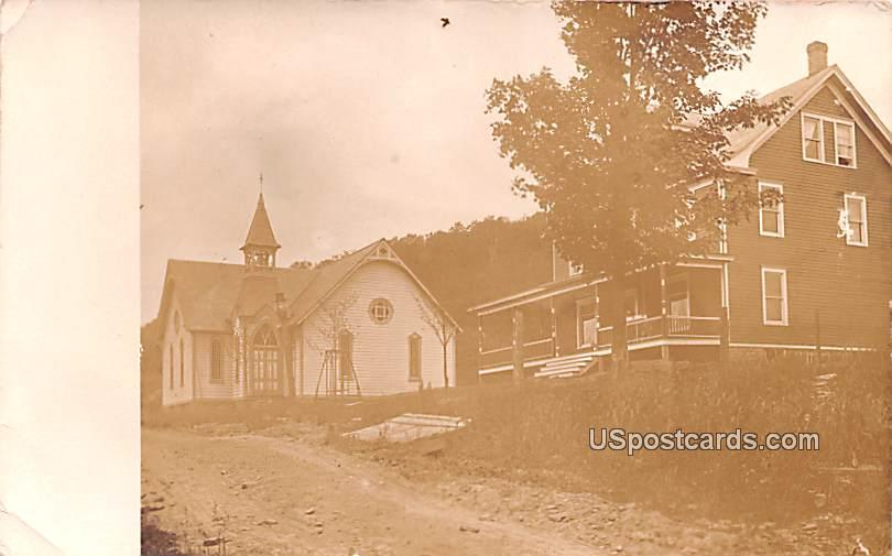 Church - Arkville, New York NY Postcard