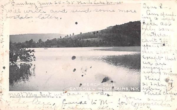 Perch Lake Arden, New York Postcard