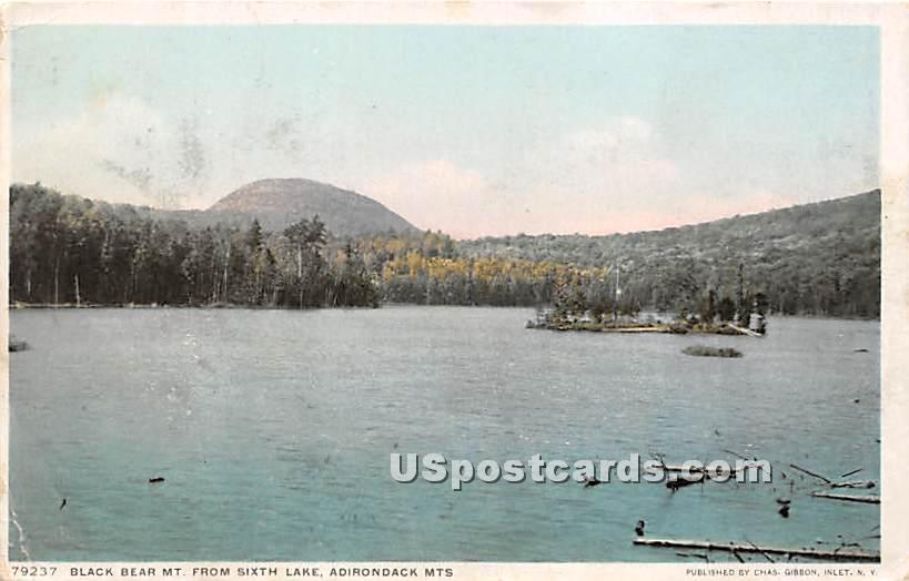 Black Bear Mountain - Adirondack Mts, New York NY Postcard