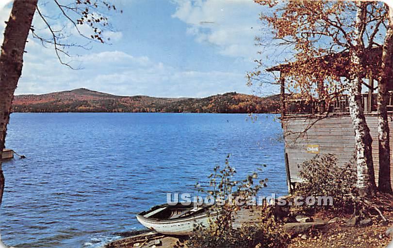 Lower Saranac Lake - Adirondacks, New York NY Postcard