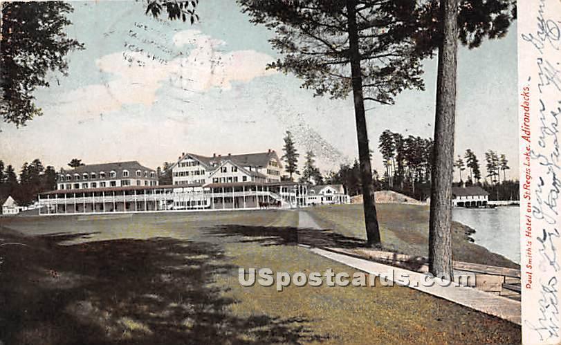 Paul Smith's Hotel - Adirondacks, New York NY Postcard