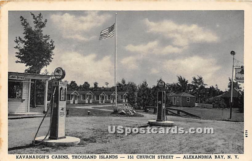 Kavanaugh's Cabins - Alexandria Bay, New York NY Postcard