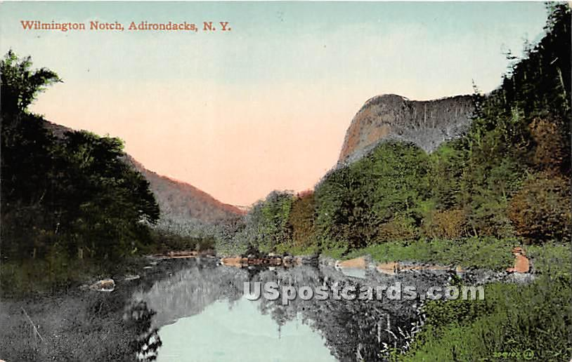 Wilmington Notch - Adirondacks, New York NY Postcard
