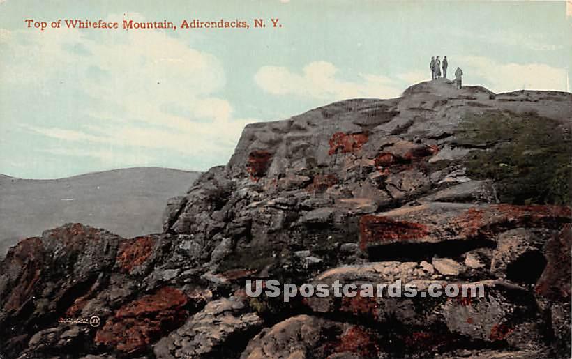 Top of Whiteface Mountain - Adirondacks, New York NY Postcard