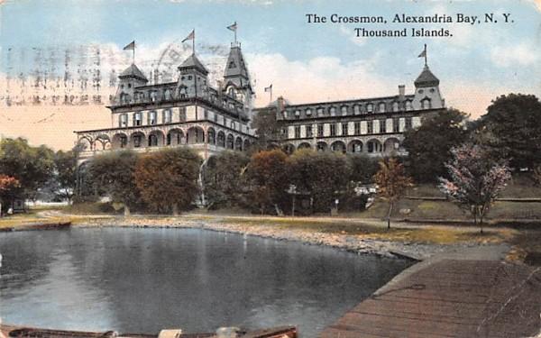 The Crossmon Alexandria Bay, New York Postcard