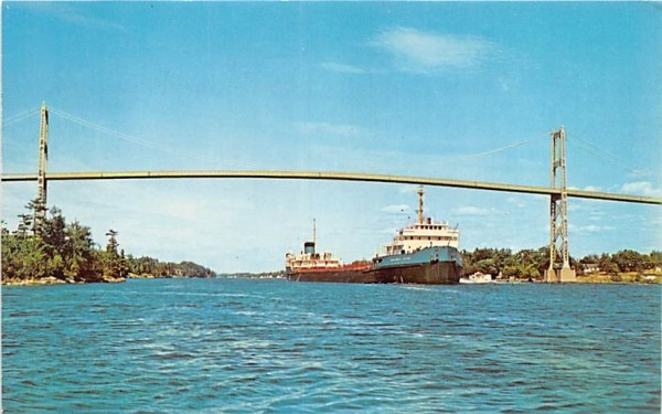 St Lawrence Seaway Alexandria Bay, New York Postcard