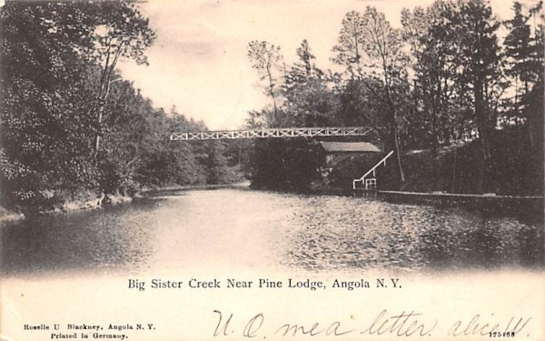 Big Sister Creek Angola, New York