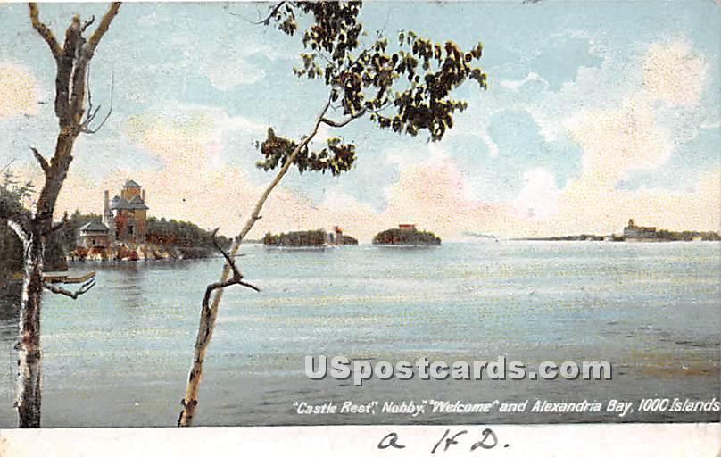 Castle Rest, Nobby - Alexandria Bay, New York NY Postcard
