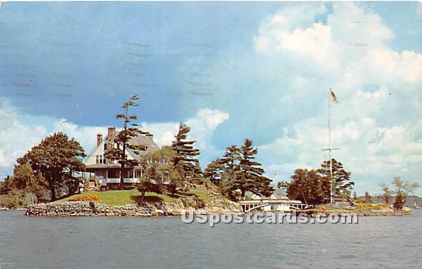 Pzavikon Island - Alexandria Bay, New York NY Postcard
