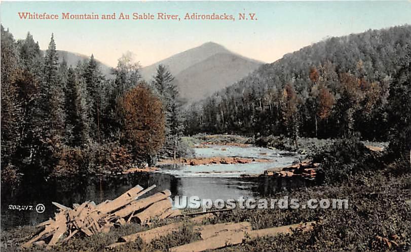 Whiteface Mountain - Adirondacks, New York NY Postcard