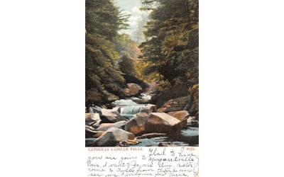 Catskill Labelle Falls Andes, New York Postcard