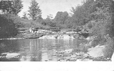 Moore Falls Andes, New York Postcard