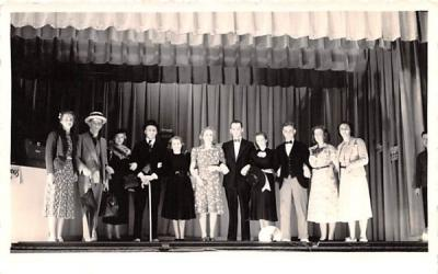 Stage Picture Andes, New York Postcard