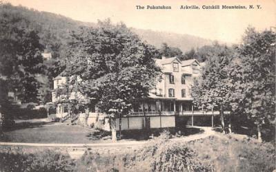 The Pakatakan Arkville, New York Postcard
