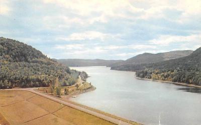 Conklingville Dam and Sacandaga Reservoir Adirondack Mountains, New York Postcard