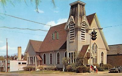 Congregational Church Arcade, New York Postcard