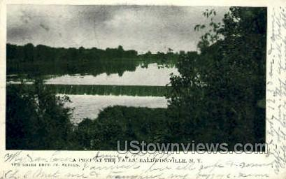 The Falls - Baldwinsville, New York NY Postcard