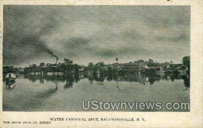 Carnival Spot - Baldwinsville, New York NY Postcard