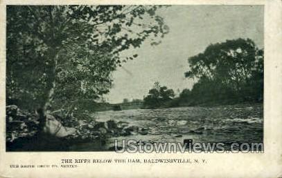 Riffs - Baldwinsville, New York NY Postcard