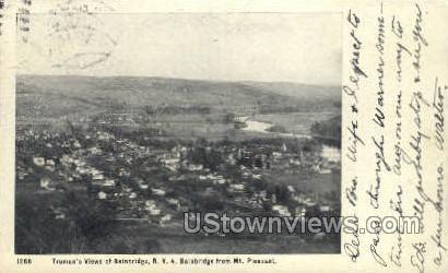 Truman's Views - Bainbridge, New York NY Postcard