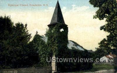 Episcopal Church - Broadalbin, New York NY Postcard