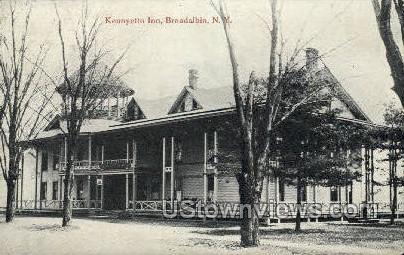 Kennyetto Inn - Broadalbin, New York NY Postcard