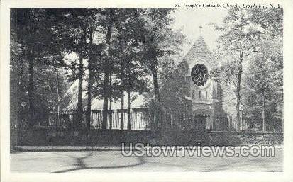 St. Joseph's Catholic Church - Broadalbin, New York NY Postcard