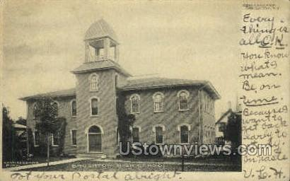 Brushton High School - New York NY Postcard