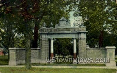 Elton Memorial Arch - East Bloomfield, New York NY Postcard