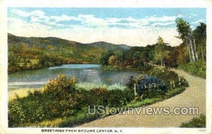 Broome Center, New York, NY Postcard