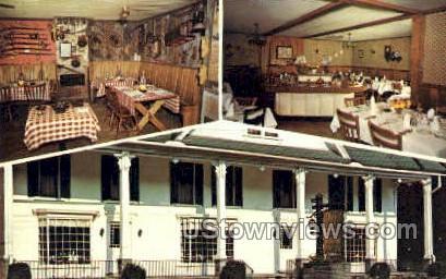 Historic Olde Jericho Tavern - Bainbridge, New York NY Postcard
